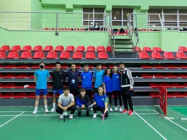 Kayseriden 9 Badminton sporcusu milli takım seçmesine gitti