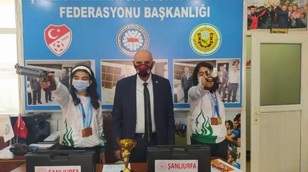 Şanlıurfalı sporcular Türkiye rekoru kırdı