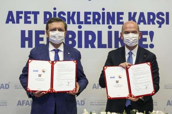 TOBB Başkanı Hisarcıklıoğlu: İş dünyası afetlere karşı ne kadar hazır olursa Türkiye ekonomisinin sürdürülebi