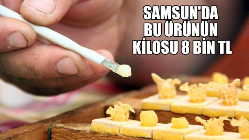 Samsun'da bu ürünün kilosu 8 bin TL