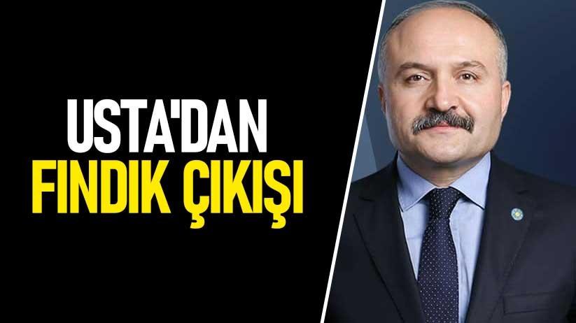 Erhan Ustadan fındık çıkışı
