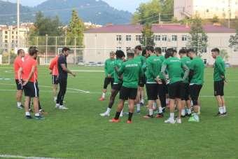 Giresunspor, Adana Demirspor maçı hazırlıklarını sürdürüyor