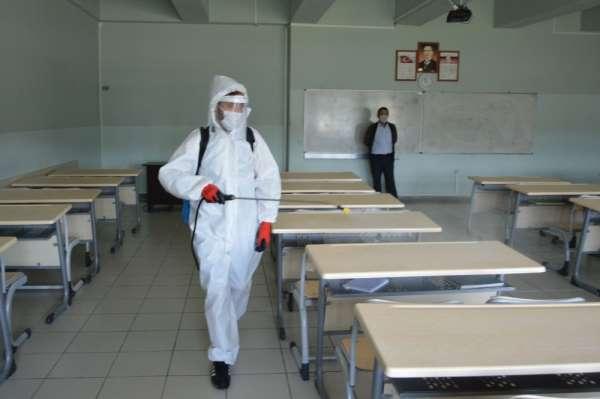 Havza'da YKS öncesi dezenfeksiyon