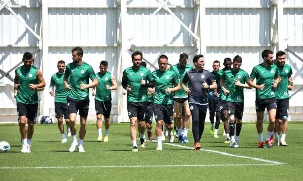 Konyaspor, Beşiktaş maçı hazırlıklarını tamamladı
