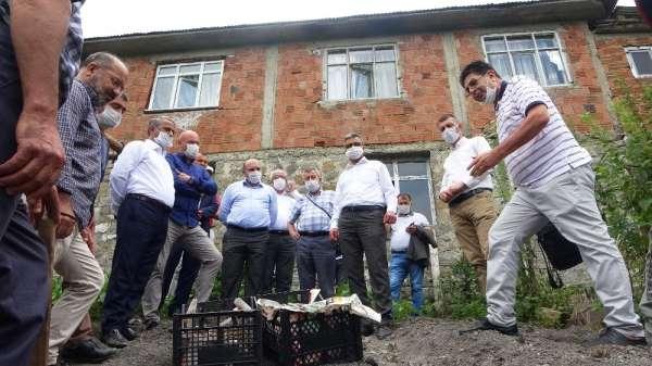 Samsun'da çiftçiye 5 bin adet salep yumrusu dağıtıldı
