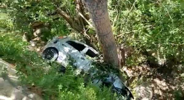 Bayburtta trafik kazası: 2 yaralı
