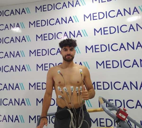 Sivassporda Furkan Sağman sağlık kontrolünden geçti