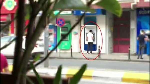 Yasa dışı bahisten kazandığı paraları ATMden çekerken yakalandı
