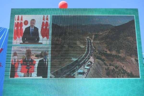 'Amasya Çevre Yolu'nu Cumhurbaşkanı Erdoğan açtı