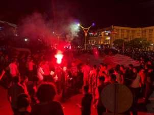 Erzincan'da 24 Erzincanspor'un TFF 2. Lig'e yükselme coşkusu