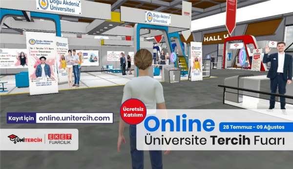 Online Tercih Fuarı'nda adaylar, üniversitelerle buluşuyor