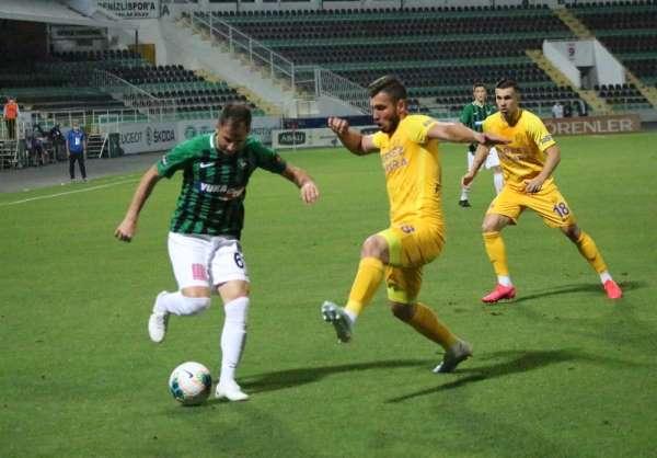 Süper Lig: Denizlispor: 0 - MKE Ankaragücü: 0 (İlk yarı)