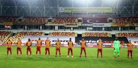 Süper Lig: Yeni Malatyaaspor: 0 - Gaziantep FK: 0 (İlk yarı)