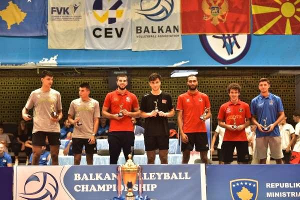 U18 Voleybol Erkek Milli Takımı, U20 Balkan Şampiyonasından gümüş madalya ile dönüyor
