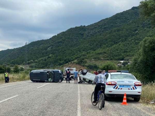 Yalovada yaralamalı trafik kazası