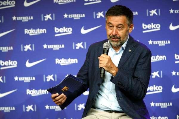 Barcelona Başkanı Bartomeunun istifa kararı aldığı iddia edildi