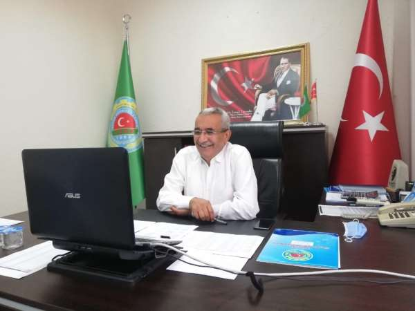 Bayraktar, Amasya'daki ziraat odalarının taleplerini dinledi