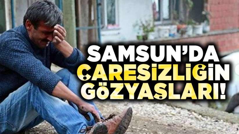 Samsun'da yangında evleri küle döndü! Yardım bekliyorlar