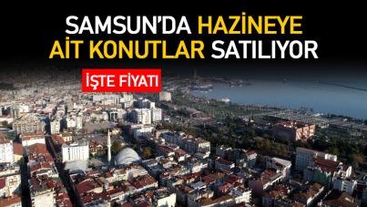 Samsun'da hazineye ait konutlar satılıyor
