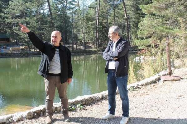 Kastamonu'da Dipsizgöl Tabiat Parkına 30 milyon TL'lik yatırım