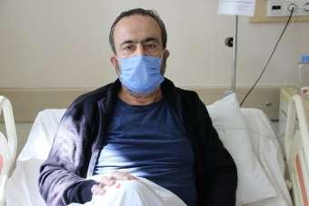 (Özel) Covid-19 hastası: 'Torunu kucaklayıp öpüyorduk, 2 gün ateşlendi sonra ken
