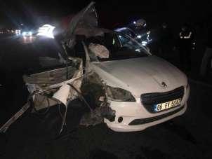 Belediye başkanının içinde olduğu otomobil kaza yaptı: 1 ölü, 2 yaralı