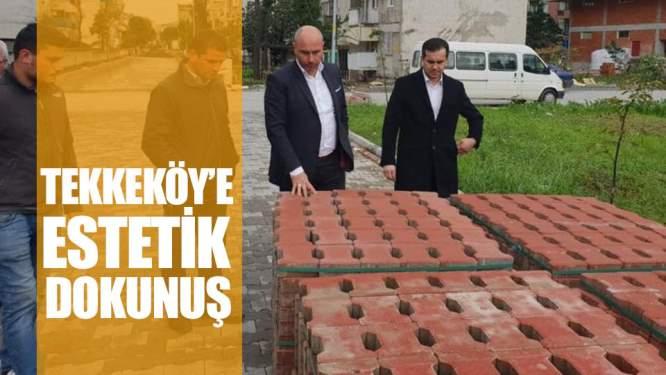 Samsun Haberleri: Tekkeköy'e Estetik Dokunuş