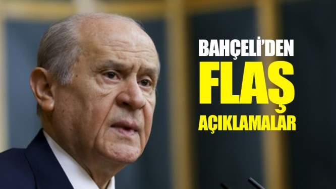 MHP Lideri Bahçeli'den Flaş Açıklamalar!