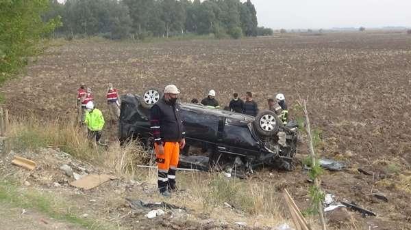 Hatayda cenaze yolunda kaza: 9 yaralı