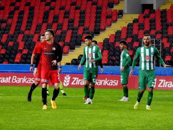 Ziraat Türkiye Kupası: Gaziantep FK: 3 - Serik Belediyespor: 0