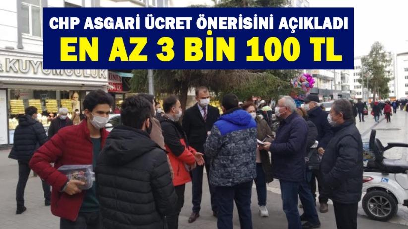 CHP asgari ücret önerisini açıkladı: En az 3 bin 100 TL