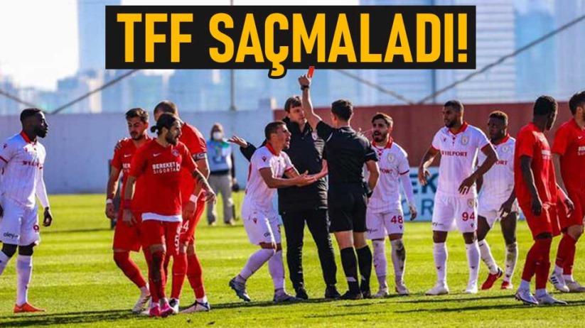 Ümraniyespor-Samsunspor maçı tekrarlanacak mı?