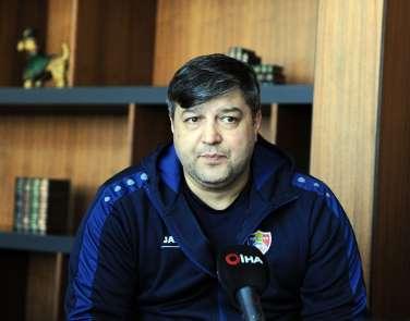 (Özel haber) Moldova Futbol Federasyonu Asbaşkanı Hincu: 'Moldova futbolunda yen