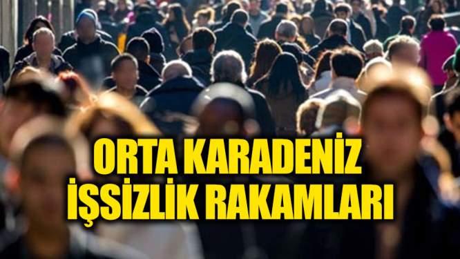 Orta Karadeniz işsizlik rakamları!