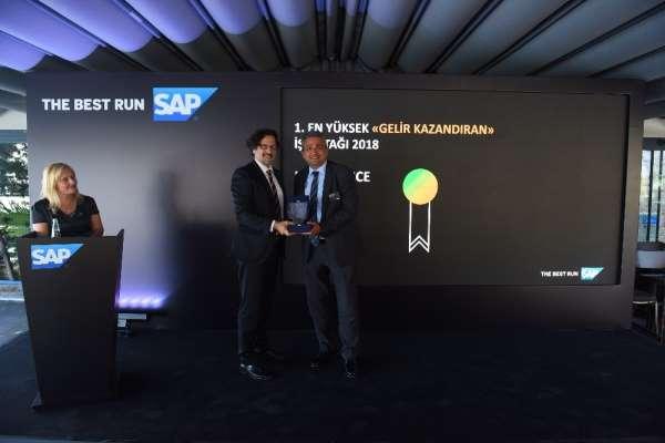 itelligence Türkiye'ye SAP İş Ortakları Günü'nde 4 ödül