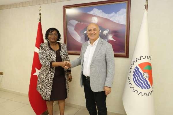 Mersin ile Tanzanya, ticari ilişkileri geliştirmek için harekete geçti