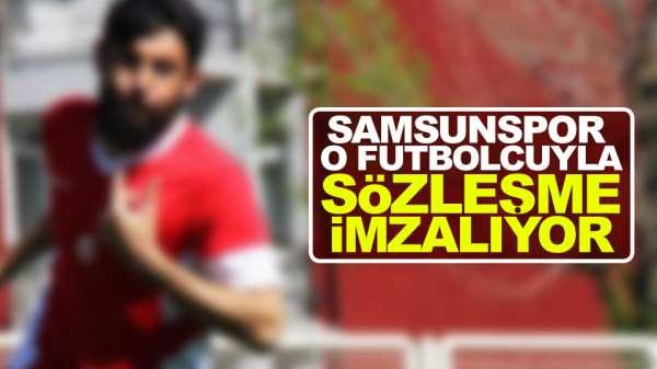 Samsunspor'da ilk Resmi imza