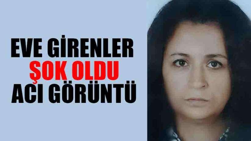 Samsun'da 46 yaşındaki kadın iple asılı ölü bulundu
