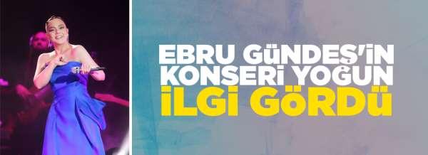 Ebru Gündeş 5 günde 28 bin kişiye şarkılarını söyledi