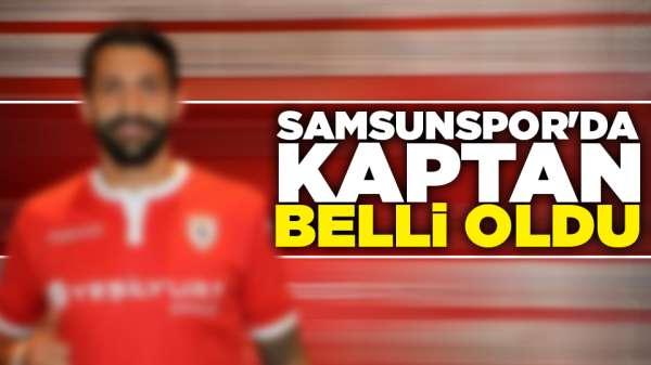 Samsunspor'da kaptan belli oldu