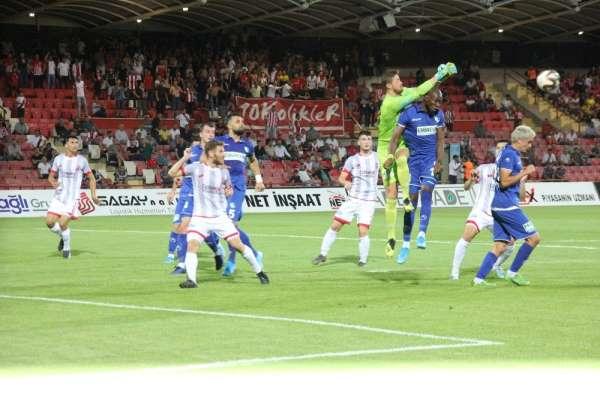 TFF 1. Lig: Balıkesirspor: 2 - Büyükşehir Belediye Erzurumspor: 1