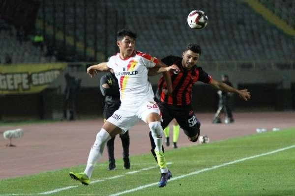 Ziraat Türkiye Kupası: Göztepe: 3 - Yozgatspor 1959: 0