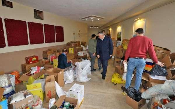 Bafralılar depremzedeler için seferber oldu