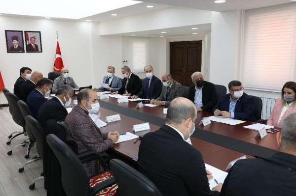 Mardin'de il istihdam ve mesleki eğitim kurulu toplantısı yapıldı