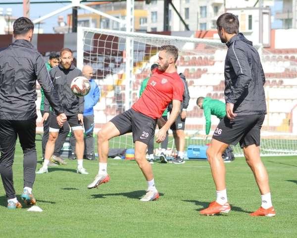 Hatayspor, Adana Demirspor maçı hazırlıklarına başladı