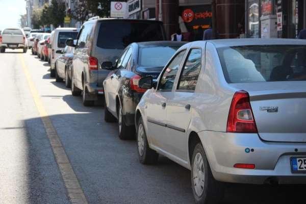 Erzurum araç varlığında 46ıncı sırada