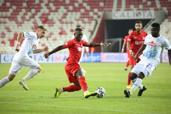 Rizespor ile Sivasspor 18. randevuda