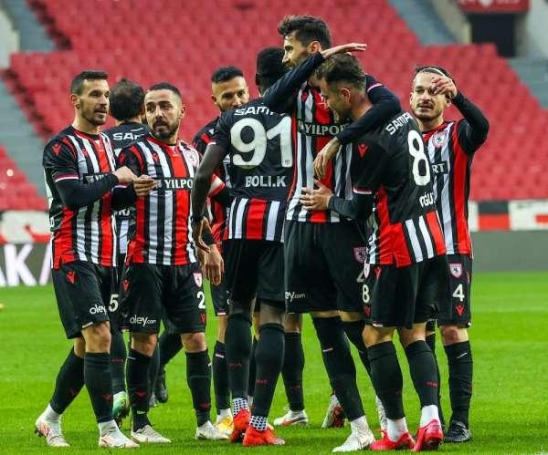 Samsunspor'un namağlup serisi 10 maça çıktı