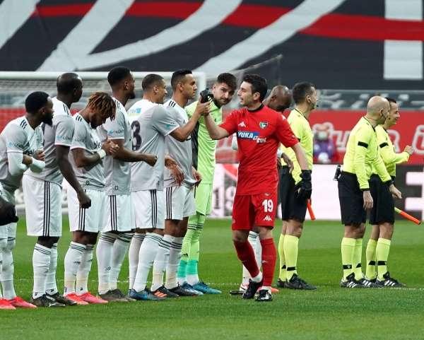 Süper Lig: Beşiktaş: 3 - Y Denizlispor: 0 İlk yarı