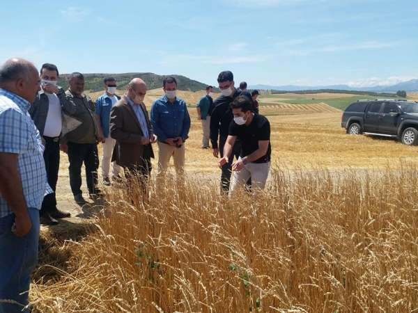 Vali Demirtaş'tan çiftçilere 'geçmiş olsun' ziyareti